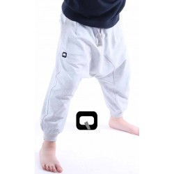 Child jogging harem pants - White (3-14 years)