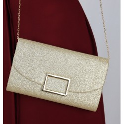 Women's handbag for a party, a wedding - Golden Color