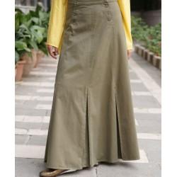 Winter skirt - Buttoned Pleated Skirt [wT9703]