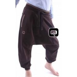 Harem pants jogging child - Brown (3-14 years)