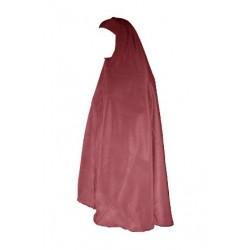 Grand Hijab (Sailing) - Large cape for Muslim women - Burgundy color