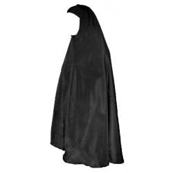 Large women's cape Style jilbab sleeveless - Black color