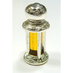 """Concentrated perfume """"Musk Al-Madinah"""" - Silver bottle 4 columns"""