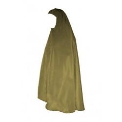 Grand Hijab Mastour - Large veiled women's cape - Kaki color