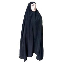 Large cape - Long hijab prayer for women - Black color