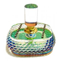 """Oriental perfume """"Haneen"""" from the brand Musc d'Or in a pretty crystal bottle (10 ml) -..."""