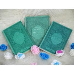 Coffret/Pack Cadeau Vert-Bleu : Les 40 hadiths an-Nawawî , Chapitre Amma (Jouz' 'Ammâ)...
