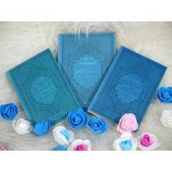 Pack Cadeau Mixte Bleu - pas cher - avec 3 livres bilingues : Les 40 hadiths an-Nawawî,...