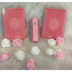 Cadeau pour femme musulmane : La Citadelle du musulman + Coran Chapitre Amma + parfum...