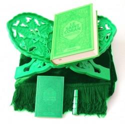 Pack Cadeau Vert : Le Saint Coran (français-arabe-phonétique), La Citadelle du...