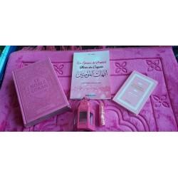 Rose Gift Pack for Muslim Women: The Noble Koran Rainbow (French/Arabic) - Books: The...