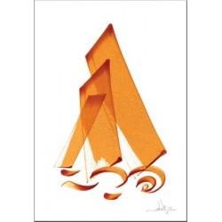 "Postcard ""La guidance"" - الهداية"