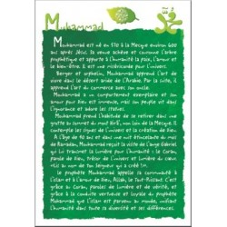 Muhammad Postcard (Biography) - محمد