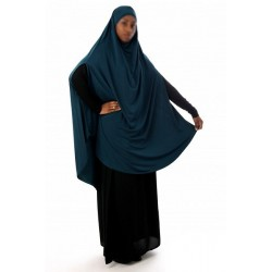 Large cape - Long prayer hijab for women with slits - Several colors available