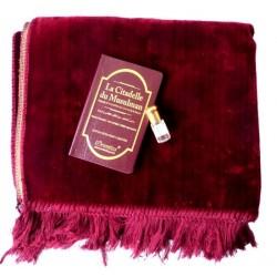"""Gift Pack: Plain burgundy velvet carpet + """"La Citadelle"""" invocation book + Concentrated..."""