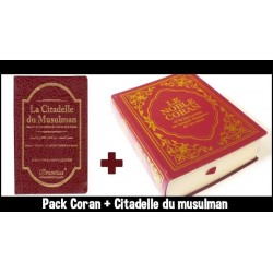 Pack Le Noble Coran Billingue + Citadelle du musulman (français-arabe-phonétique)