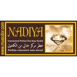 """Concentrated perfume without alcohol Musk d'Or """"Nadia Nadiya"""" (3 ml) - For women - نادية"""