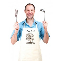 Cooking apron customizable to your choice (for women or men) - The kitchen tree