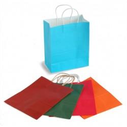 Sac cadeau coloré (Taille moyenne 27 x 22,5 x 11 cm)