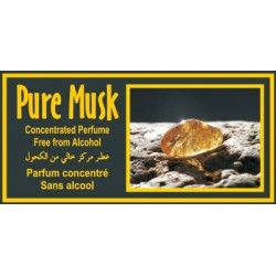 """Concentrated perfume without alcohol Musc d'Or """"Pure Musk"""" (3 ml) - Mixed"""