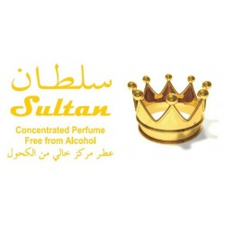 """Concentrated perfume without alcohol Musc d'Or """"Sultan"""" (8 ml) - For men"""