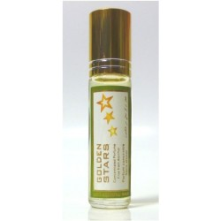 """Concentrated perfume without alcohol Musk d'Or """"Golden Stars"""" - 8 ml"""