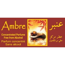 """Concentrated perfume without alcohol Musk d'Or """"Ambre"""" - (8 ml)"""