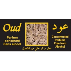 """Concentrated perfume without alcohol Musc d'Or """"Oud"""" (8 ml) - For men"""