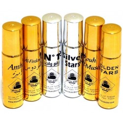 Discovery pack of 6 different perfumes of the brand Musc d'Or - Deluxe Edition (6 x 8 ml)