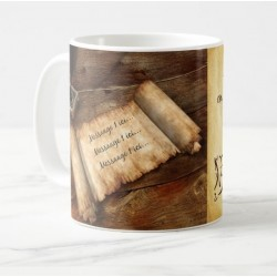 Mug with personalized messages (Papyrus)
