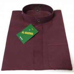 Long Qamis for Muslim children (collar and long sleeves) - Size 24 (From 1 to 2 years)