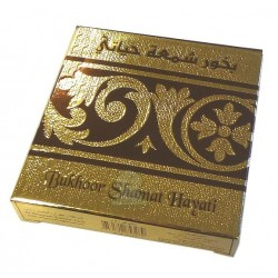 "Bukhoor ""Shamat Hayati"" (The candle of my life): Amber / incense with oriental scents"