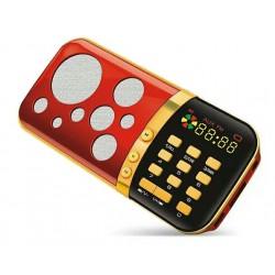 Lecteur MP3 + Radio FM avec clavier et carte MicroSD de 8 Go préchargée par de nombreux...