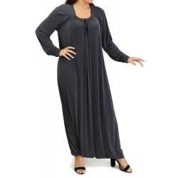 Robe Combinaison Sarouel/Pantalon - Couleur Gris