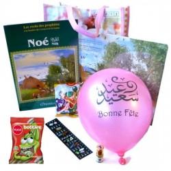 Pack cadeau endant : Le Prophète Noé et le déluge (à partir de 5 ans) - Version Filles