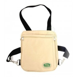 Side and neck shoulder bag / satchel secure for Hajj or Umrah (Hajj Safe)