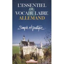 L'essentiel du vocabulaire allemand : simple et pratique