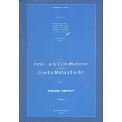 Cheikh Mohand a dit - Inna - yas Ccix Muhend (tome 1)