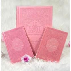 Pack Cadeau pour femme musulmane - Rose claire : Le Saint Coran, Chapitre Amma et La...