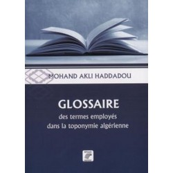 Glossaire des termes employés dans la toponymie algérienne