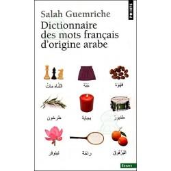 Dictionnaire des mots français d'origine arabe (format poche)