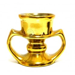 Small golden censer