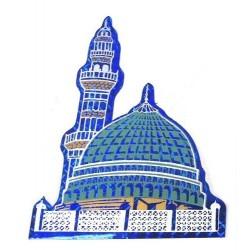 Medina Mosque blue sticker