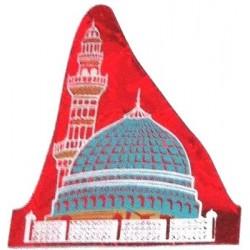 Medina Mosque red sticker