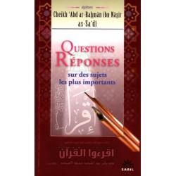 Questions et réponses sur les sujets les plus importants
