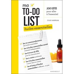 My TO-DO LIST essential oils