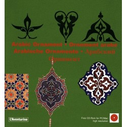 Ornements arabes - Arabic Ornament (Livre + CD)
