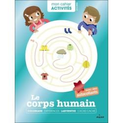 Mon cahier d'activités : Le corps humain (3 à 6 ans)