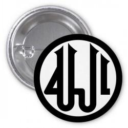 "Calligraphy badge ""Allah"""