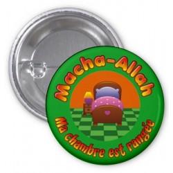 Masha-Allah badge: My room is tidy (Green)